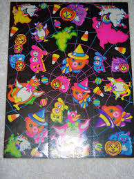 vintage lisa frank stickers s199 halloween stickers bear