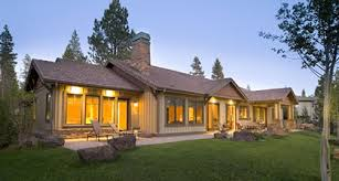ranch home plans contemporary but with craftsman details