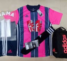 Baju Adidas Juventus setelan kaos futsal bola adidas ad14 motif juventus pink rumah