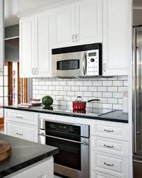backsplash for black and white kitchen kitchen inspiring kitchen backsplash design ideas hgtvs