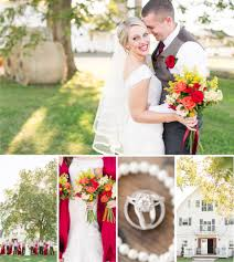 Rustic Barn Wedding Dresses A Rustic Barn Wedding At Brandy Hill Farm In Culpeper Virginia