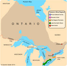 Map Of Ontario Canada by Canadian Wine U2013 Ontario U0027s Niagara Peninsula Quentin Sadler U0027s