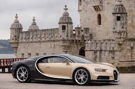 gold bugatti 2018 bugatti chiron first drive review automobile magazine