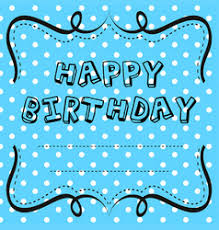 birthday u0026 border vector images over 14 000