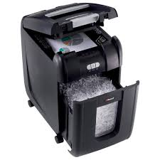 rexel auto 60x confetti cross cut shredder 60 sheets 15l bin