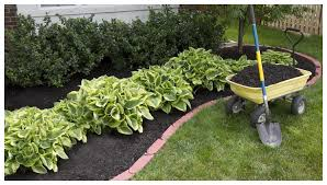 How To Mulch Flower Beds Tis The Season For Landscaping And Mulch In Massachusetts W R