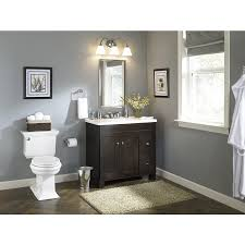 Allen And Roth Bathroom Vanities by Shop Allen Roth Palencia Espresso Contemporary Bathroom Vanity