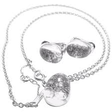 white gold crystal necklace images Cartier myst de cartier rock crystal diamond white gold dome jpg