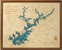 lake lanier map lake lanier 3d carved lake map lakehouse lifestyle