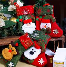 tripleclicks com misaya 1pc cartoon christmas tree santa socks