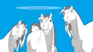spirit horses coloring pages free here