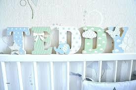 lettres pour chambre bébé lettre bois chambre bebe pour best of s en fondatorii info