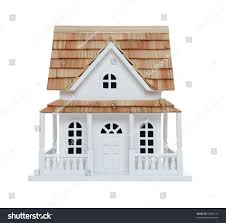 old victorian house model isolated over stock photo 55994113