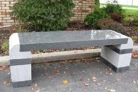 granite benches granite bench charcoal granite bench garden bench