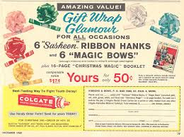 sasheen ribbon vintage sasheen ribbon and magic bows promo 1960 david
