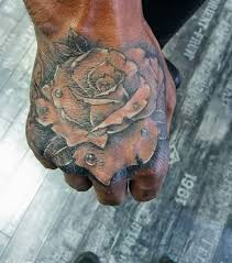 rose hand tattoo kim sorry mom tattoos
