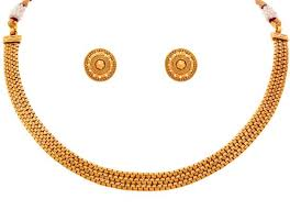 gold necklace with stones images One gram gold jewellery buy one gram gold jewellery online at jpeg