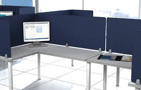 Panel Desk Merge Works Enclave Panel Fabric Fold Desk Divider U0026 Reviews Wayfair