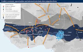 The Sahel Map Sahel Sahara Governance Is Key To Migratory Flows Oxford