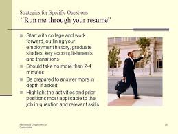 Walk Me Through Your Resume Sample by Interview Like A Pro How To Improve Your Odds Of Getting The Job
