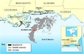 map of the gulf of mexico gcse bitesize study gulf of mexico spill and bp