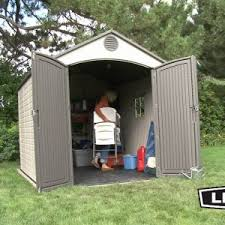 Backyard Sheds Costco by Decor Grey Wooden Backyard Sheds Costco For Garden Tools Storage