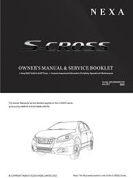 s cross owners manual service interval manual trunk car