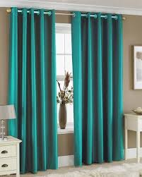 attractive orange and teal curtains and best 25 burnt orange