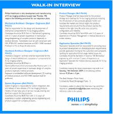 Resume Job In Linux by Jobs In Philips Electronics India Limited Vacancies In Philips