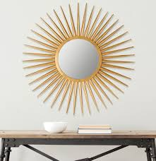 interior u0026 decor sunburst silver mirror home depot sunburst