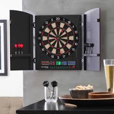 black dart board cabinet bullshooter by arachnid marauder 5 0 electronic dart board complete