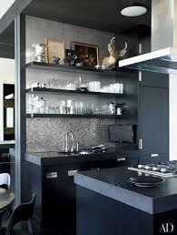 grey kitchen units with black granite worktops 25 black countertops to inspire your kitchen renovation