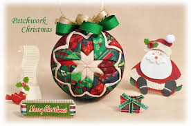 patchwork quilted ornament kit