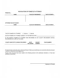Power Of Attorney Georgia Form Free by Free Power Of Attorney Revocation Forms Revoke Power Of Attorney