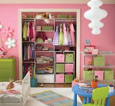 Kids Bedroom Solutions Small Spaces Interior Lovely Kid Room Storage Idea With Cute Pink Wall Also