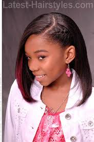 black american hair style on a circle face to school 32 adorable hairstyles for little girls