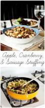 thanksgiving sausage dressing apple cranberry and sausage stuffing recipe grain free