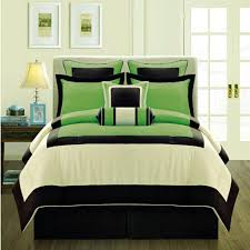 Green King Size Comforter Bedding Set Green And Black Duvet Covers Amazing Green King Size