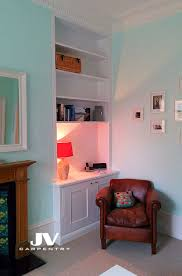 alcove cupboards and shelves acton w3 jv carpentry