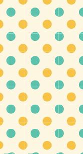Polka Dot Wallpaper Polka Dot Green Orange Shelf Borders Wallpaper Sc Iphone6splus