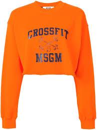 msgm women clothing sweatshirts buy online msgm women clothing