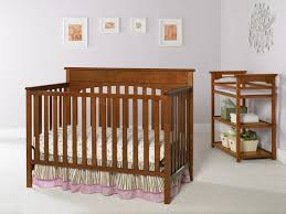 Graco Espresso Convertible Crib by Lajobi Crib Guard Rail Baby Crib Design Inspiration