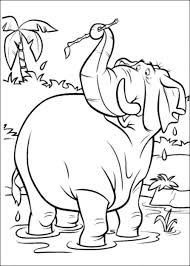 coloring pages free printable jungle book coloring pages