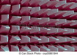chambre sourde électromagnétique ou chambre sourde mur photo de