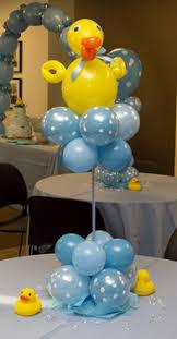 balloon centerpiece baby shower balloon decor