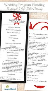 traditional wedding program template wedding program wording templatestruly engaging wedding