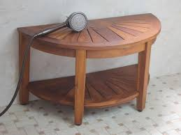 Teak Bathroom Stool by Fabulous Cedar Shower Bench Design With Wooden Material Featuring