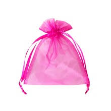 pink organza bags gift bags spa magik organiks marketing marketing items