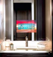 tv in the mirror bathroom seura mirror tv in mirror new bathroom mirrors new in the bathroom