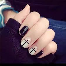 online get cheap short black fake nails aliexpress com alibaba